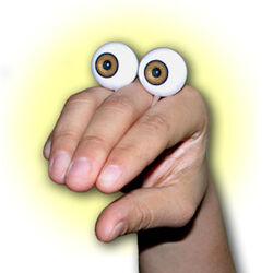 Oobi Eyes hand puppet