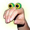 Oobi Eyes - Green Creature