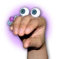 Oobi Uma hand puppet eyes