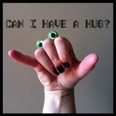 Oobi Eyes Hand Puppet - Green Googly Eyes