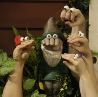 Noggin Oobi Uma Kako Grampu Hand Puppets Characters Nick Jr. Nickelodeon