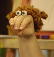 Oobi Moppie Noggin Nick Jr Nickelodeon Moppy Hand Puppet Character