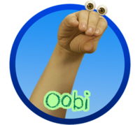 Oobi Noggin Nick Jr TV Series Show Hand Puppet