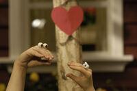 Noggin Oobi Uma Valentine! Hand Puppets Characters Nick Jr. Nickelodeon