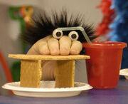 Oobi Taro Noggin Nick Jr Nickelodeon Hand Puppet Character