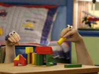Oobi Uma Nick Jr Noggin TV Series Show Hand Puppet Character 5