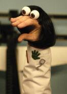 Noggin Nick Jr Oobi Dr Rose Doctor Hand Puppet TV Show Series Character