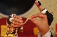 Iranian Oobi Hand Puppet TV Series - Dasdasi Parents Dasdasi (Persian دس دسی صداش می آد)