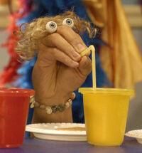 Oobi Fred Noggin Nick Jr Nickelodeon Hand Puppet Character