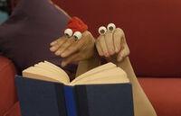 Oobi Kako Noggin Nick Jr TV Show Series Hand Puppet Characters