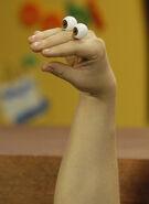 Oobi Nick Jr Noggin TV Series Show Hand Puppet Character 3