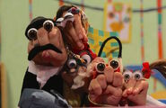 Iranian Persian Oobi Hand Puppet TV Series - Dasdasi Characters Cast
