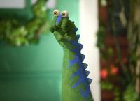 Noggin Oobi Dinosaur! - Grampu Grampusaurus Nick Jr Nickelodeon TV Show Series Character