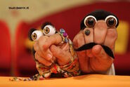 Iranian Persian Oobi Hand Puppet TV Series Dasdasi Cast