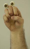 Oobi Grampu Nick Jr Noggin TV Series Show Hand Puppet Character 2