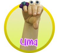 Oobi Uma Noggin Nick Jr TV Series Show Hand Puppet