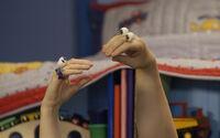 Oobi Uma Hand Puppets Characters Noggin Nick Jr