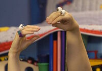 Oobi and Uma - Hand puppets promo photo