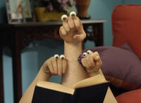 Oobi Grampu Uma Noggin Nick Jr Hand Puppets TV Show Series