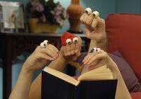 Oobi Uma Kako Grampu Grandpoo Noggin Nick Jr Hand Puppet TV Show Series