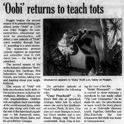 Oobi-Dinosaur-newspaper-ad