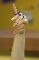 Oobi Uma Nick Jr Noggin TV Series Show Hand Puppet Character 3