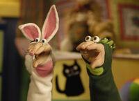 Noggin Oobi Halloween Uma Hand Puppets Characters Nick Jr Nickelodeon