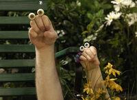 Noggin Oobi Uma Grampu Scene Hand Puppets Nickelodeon