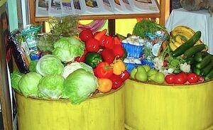 Dumpstered vegetables