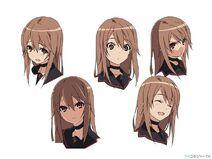 Ryouko Ookami Character Design 3