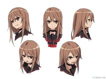 Ryouko Ookami Character Design 2