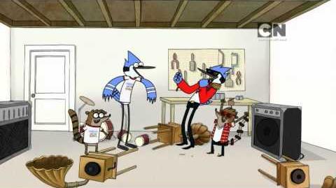 Regular Show - Mordecai & The Rigbys (Preview)