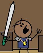 Greenhilt Sword