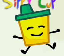 Sippy cup's pose by Orbitball