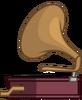 Phonograph back L