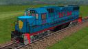 Locomotora FNM GP 38