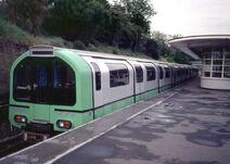 London Underground 1986 Stock (Green)