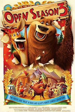 Open Season 3 Promotional Poster
