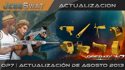 OPeration7 Actualización Agosto 2013 Armas, Trajes Lotería