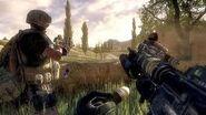 M4A1 CQB A M203 reload