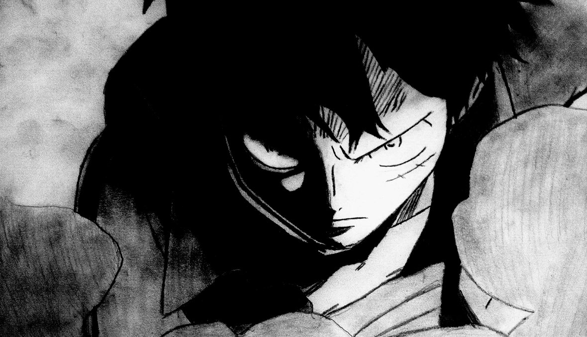 image luffy i am the one who will become pirate king by