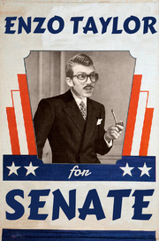 Enzo 40s Poster Senate Text