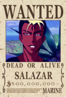 Salazar Bounty Poster