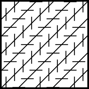Zollner Illusion