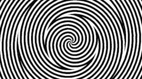 Optical Illusion - Hypnotic Spiral