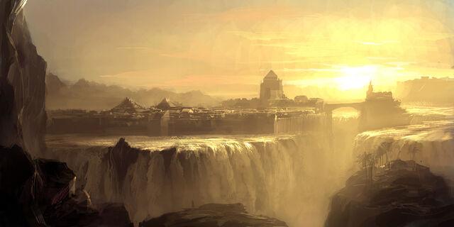 File:Waterfall city by artbytheo.jpg
