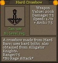 Hard Crossbow