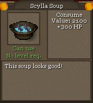 Scylla soup