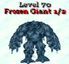 Frozen giant phase 1