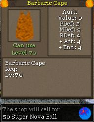 Barbaric Cape